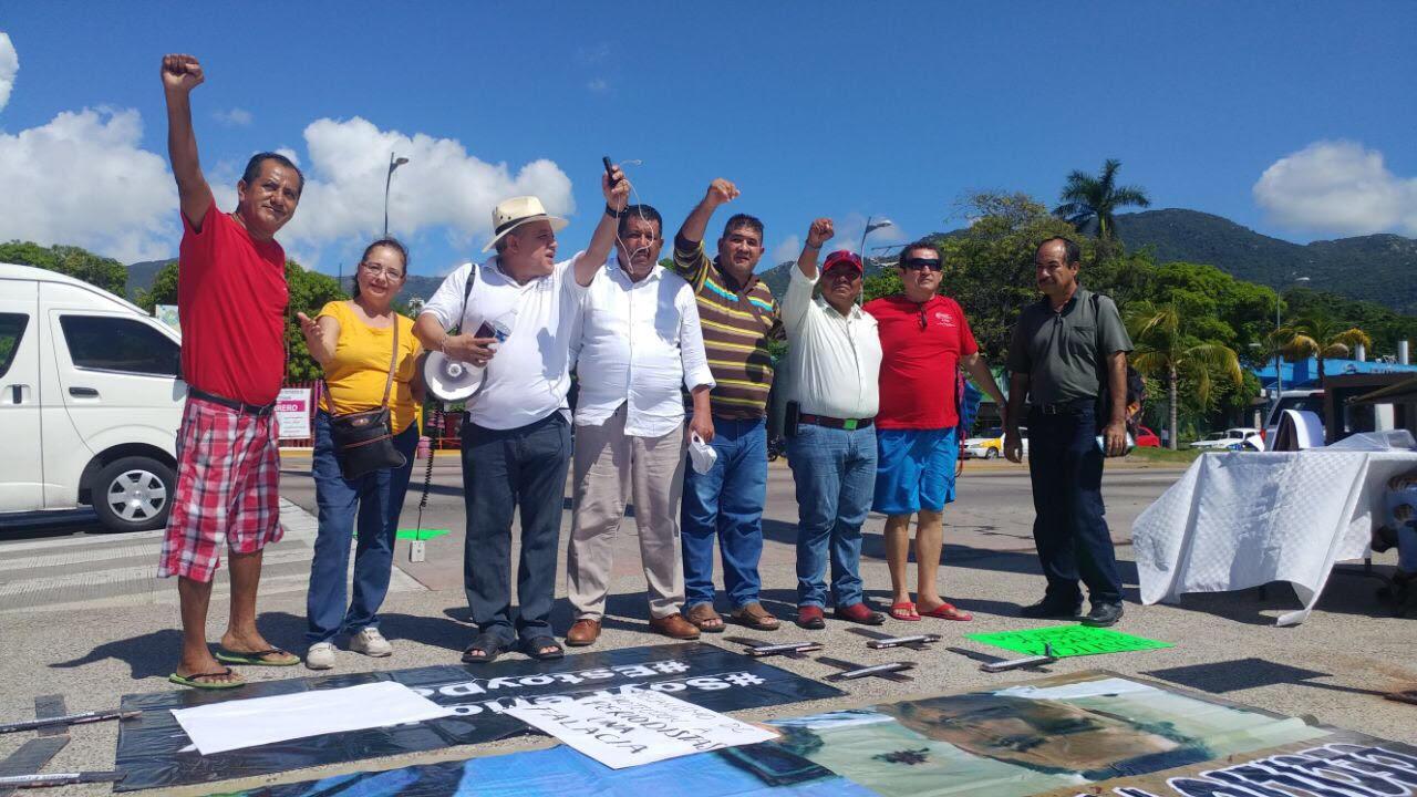 Periodistas de Guerrero muestran su apoyo(5)