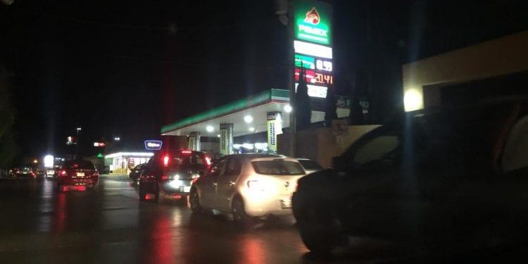 gasolina en SLP