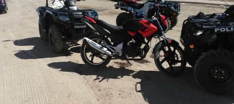 robo de motocicletas