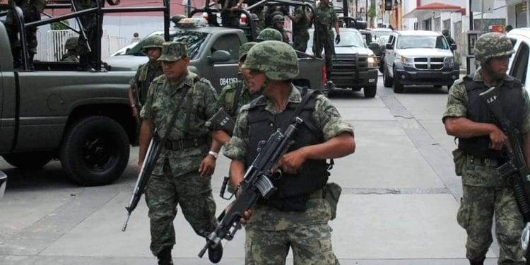 Guardia Nacional en SLP