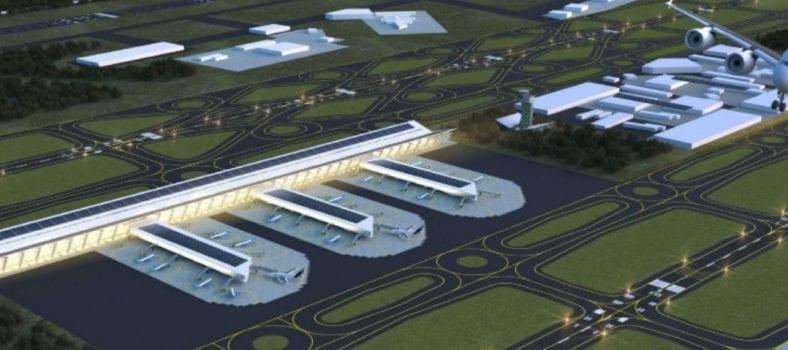 aeropuerto de Santa Lucía