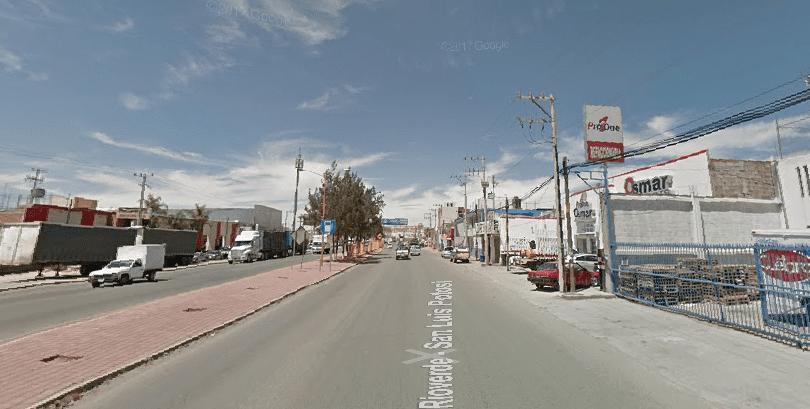 muerto carretera Rioverde
