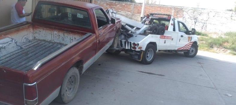 camioneta robada