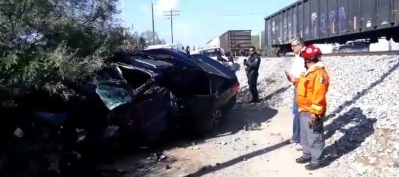 accidente de tren en SLP