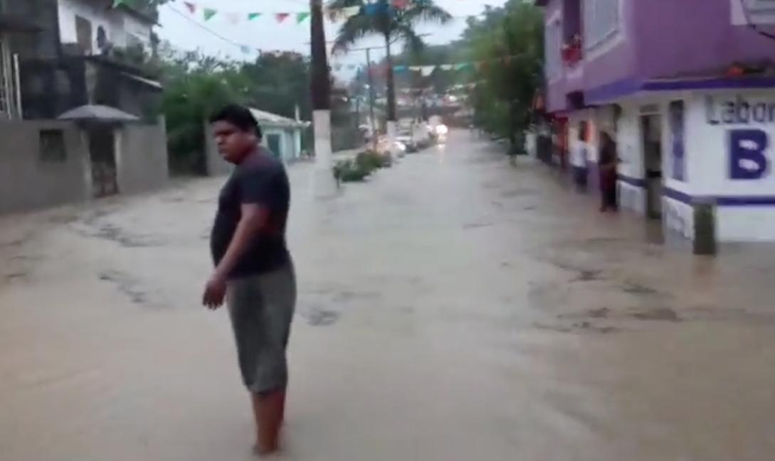 lluvias en la Huasteca