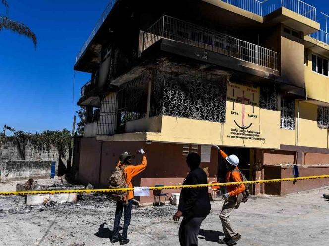 15 niños haitianos mueren en incendio de orfanato