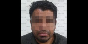policía detenido en SLP