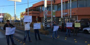 manifestación de taxistas