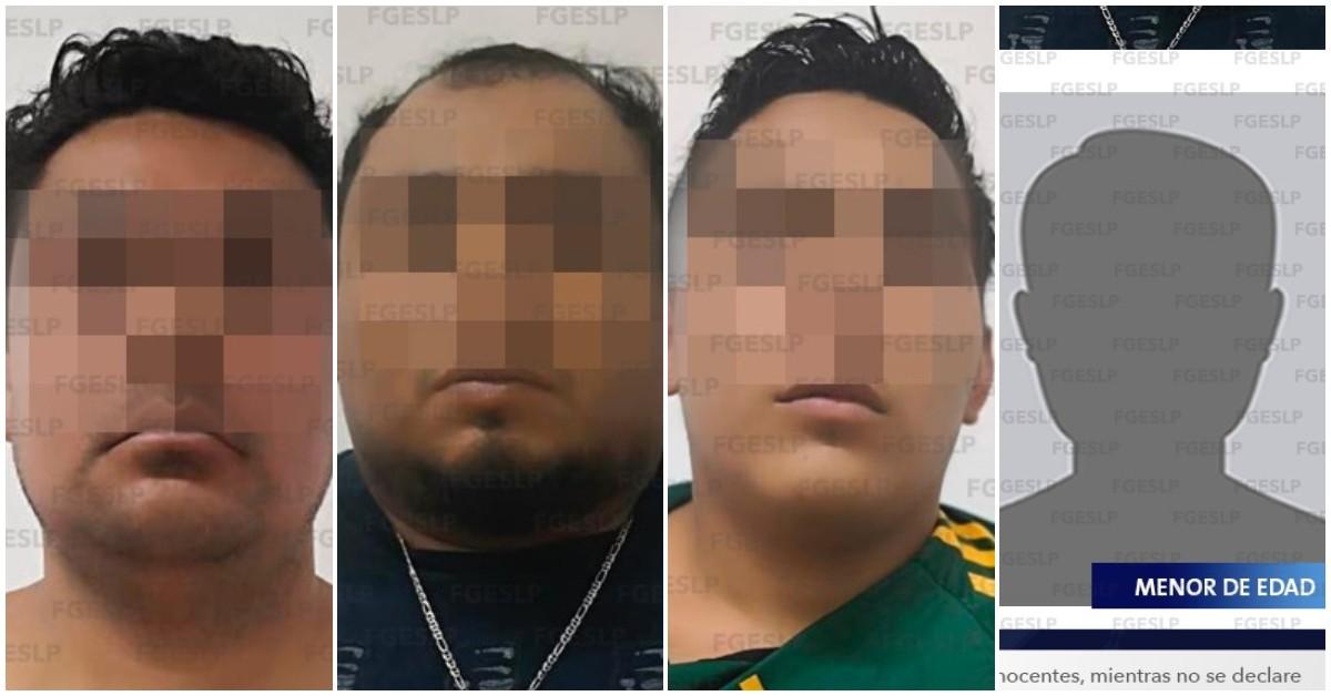 secuestradores en SLP
