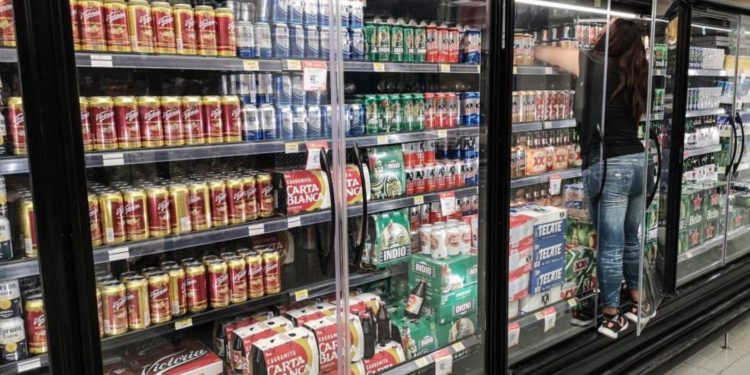 venta de cerveza