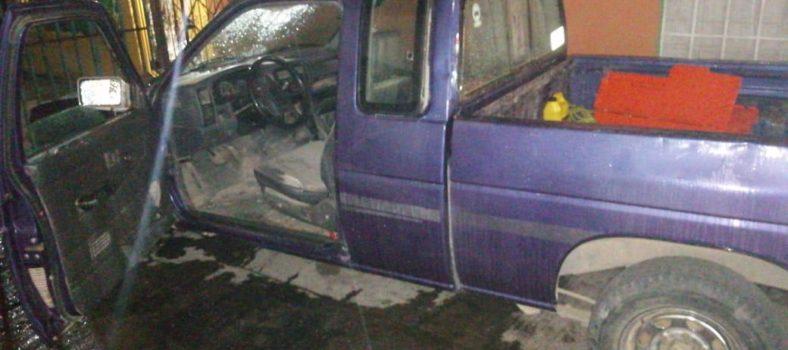 camionetas robadas