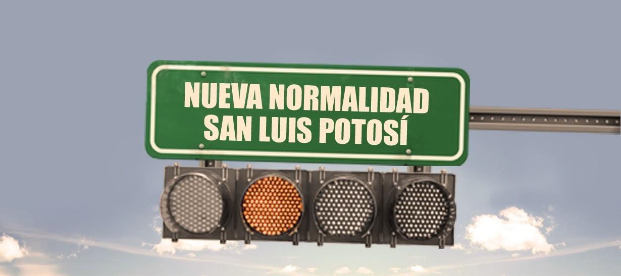 semáforo naranja