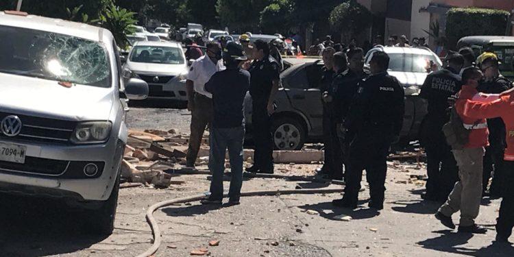 explosión en Lomas