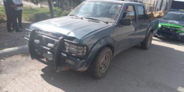 camioneta robada en Soledad