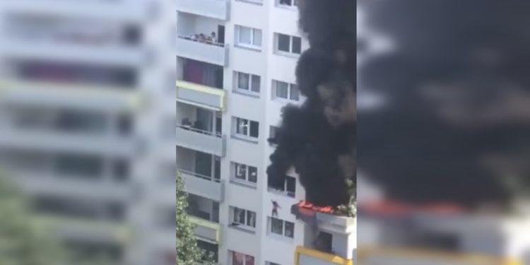 incendio en Francia